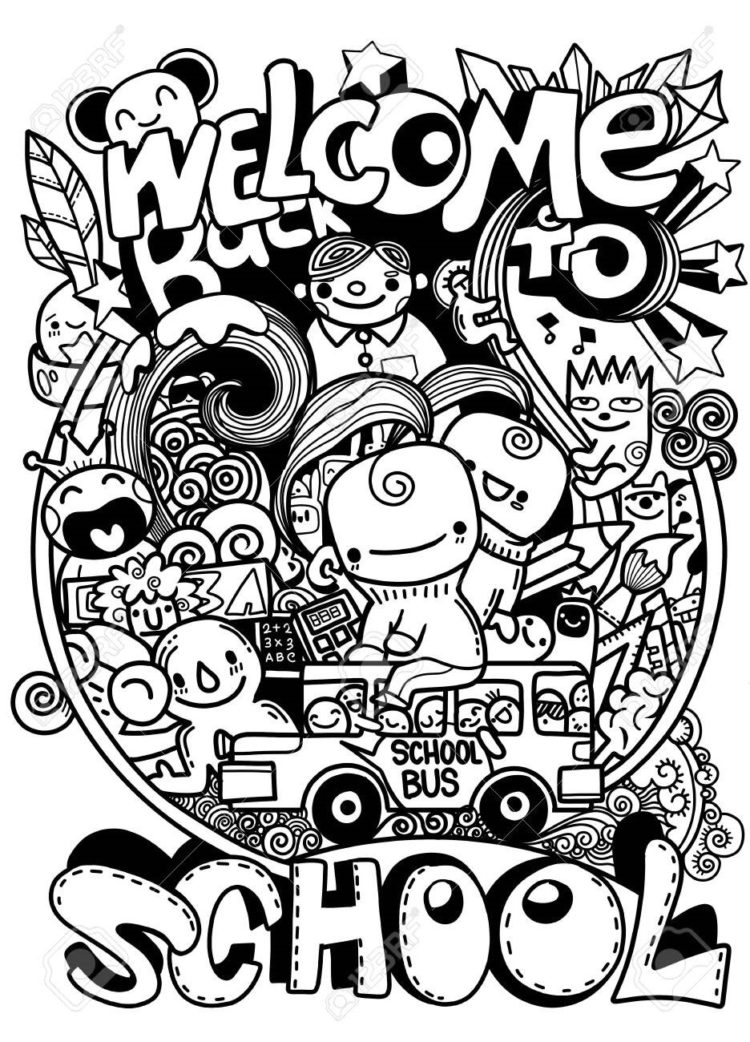 doodle art easy to draw