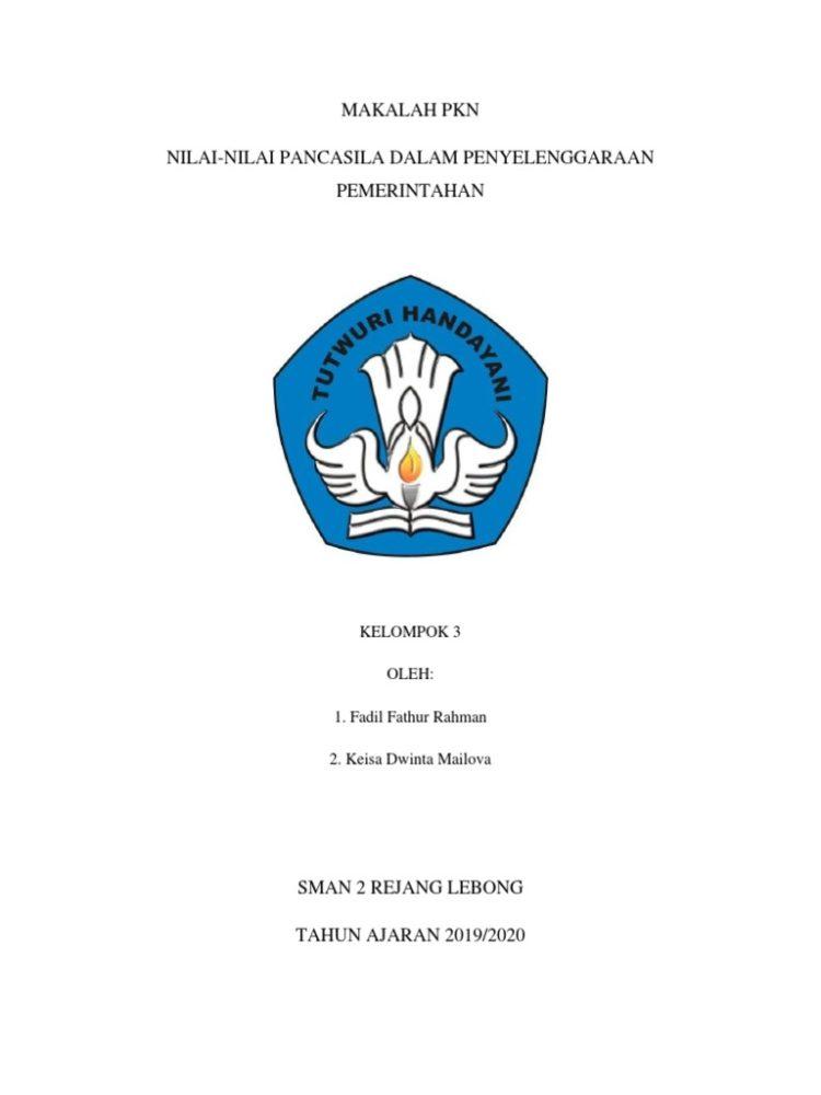 cover makalah laporan praktikum