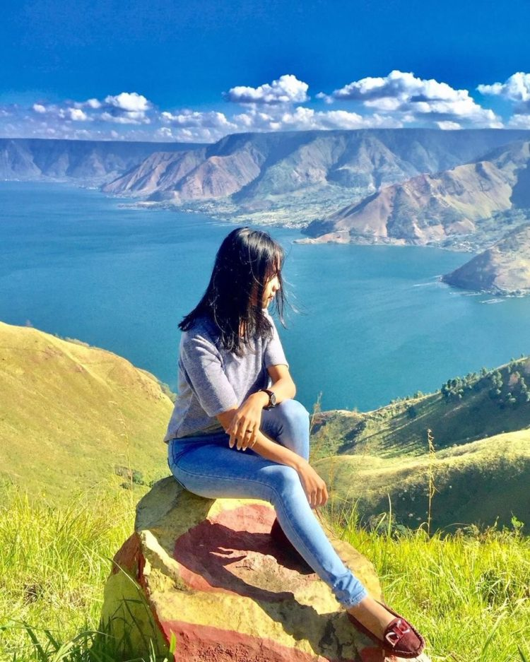 danau toba google map
