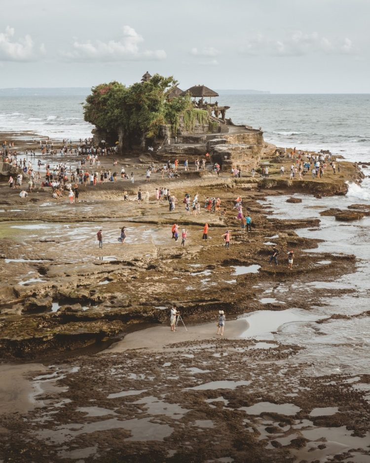 tanah lot is