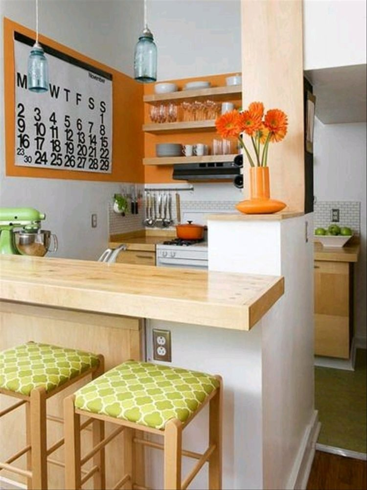 kitchen set letter l