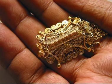 aksesoris cincin euncien pinto pakaian adat aceh untuk wanita