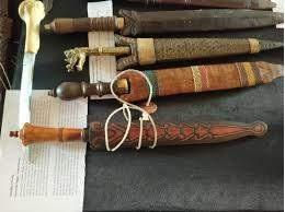 dohong adalah senjata tradisional kalimantan utara