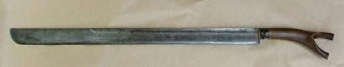 siwar panjang adalah senjata tradisional kepualauan bangka belitung